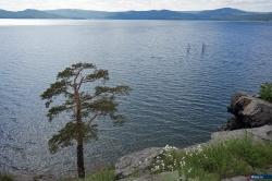 Летний день на озере Тургояк