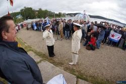 День Военно - морского флота. Озеро Тургояк, 27 июля 2014 года.