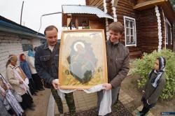 Крестный ход в селе Новоандреевка