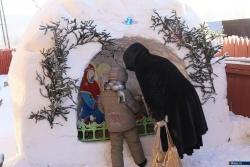 Детский праздник Родества Христова 7 января 2016 года в церкви Святых Страстотерпцев, что в поселке Тургояк